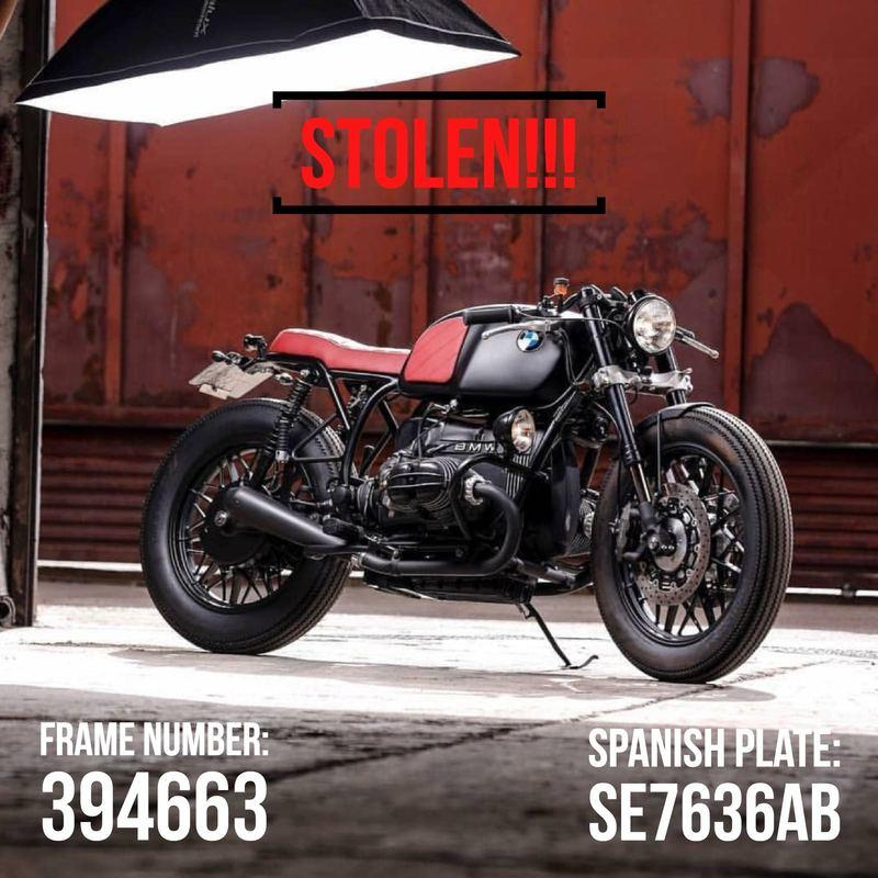 What would you do if you had 8 vintage motorcycles and a Porsche stolen from your garage? Exterior - image 768622