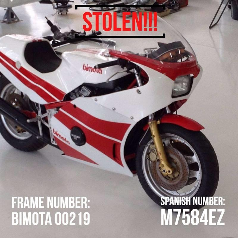 What would you do if you had 8 vintage motorcycles and a Porsche stolen from your garage?