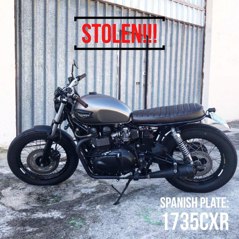 What would you do if you had 8 vintage motorcycles and a Porsche stolen from your garage? Exterior - image 768618