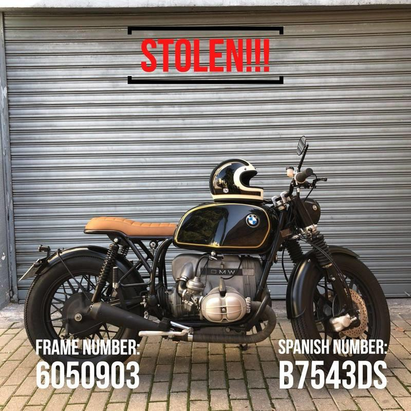 What would you do if you had 8 vintage motorcycles and a Porsche stolen from your garage? Exterior - image 768619
