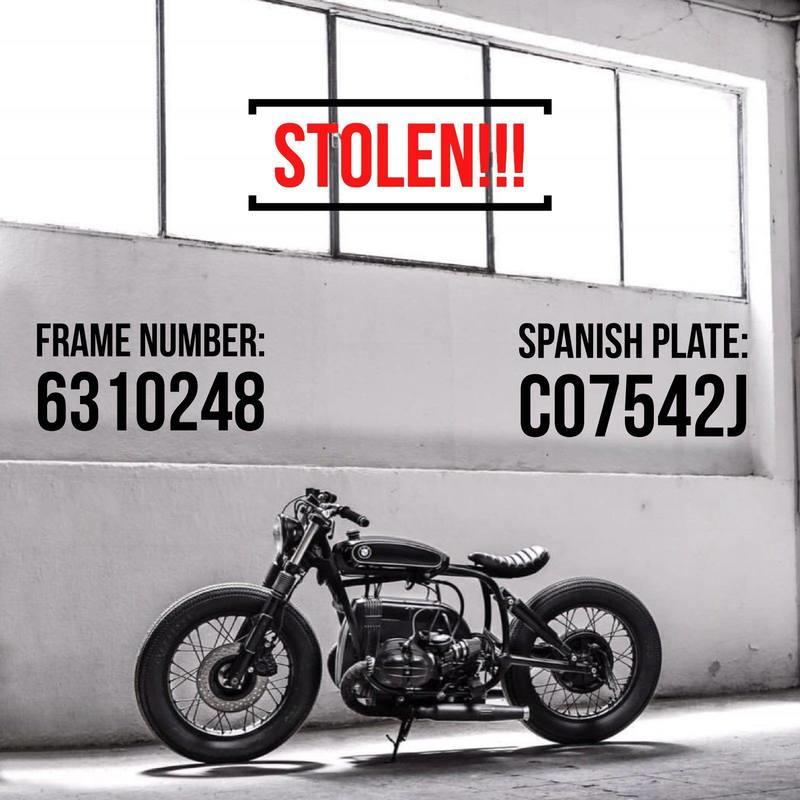 What would you do if you had 8 vintage motorcycles and a Porsche stolen from your garage? Exterior - image 768620