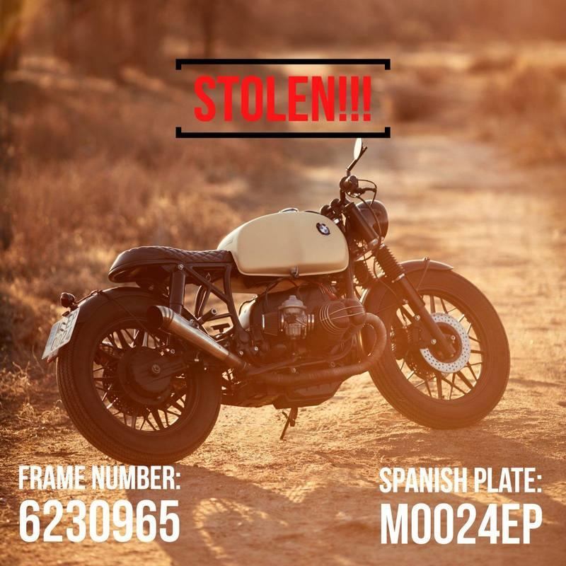 What would you do if you had 8 vintage motorcycles and a Porsche stolen from your garage? Exterior - image 768621