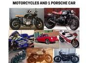 What would you do if you had 8 vintage motorcycles and a Porsche stolen from your garage? - image 768613