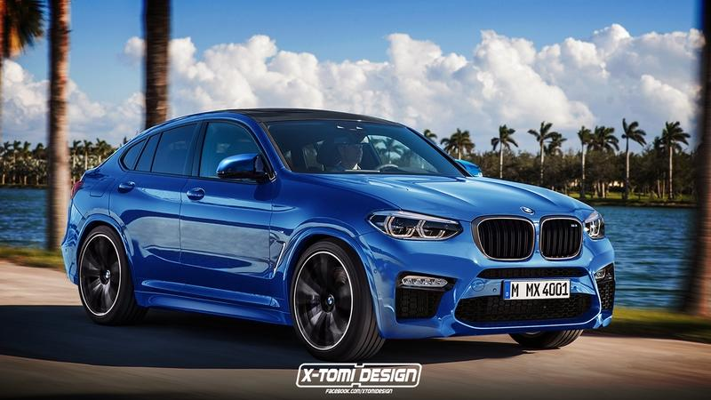 Xtomi's Rendering of the BMW X4M has us Itching for the Real Deal