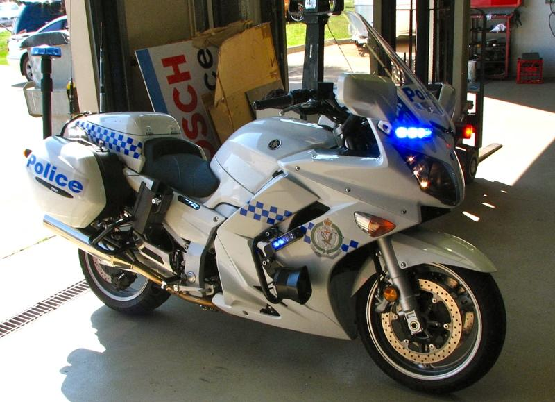 Yamaha FJR1300P: The new American police story
