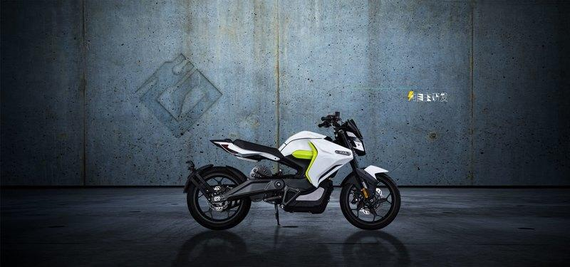 "The ""White Ghost"" is the new benchmark in commuter electric motorcycle"