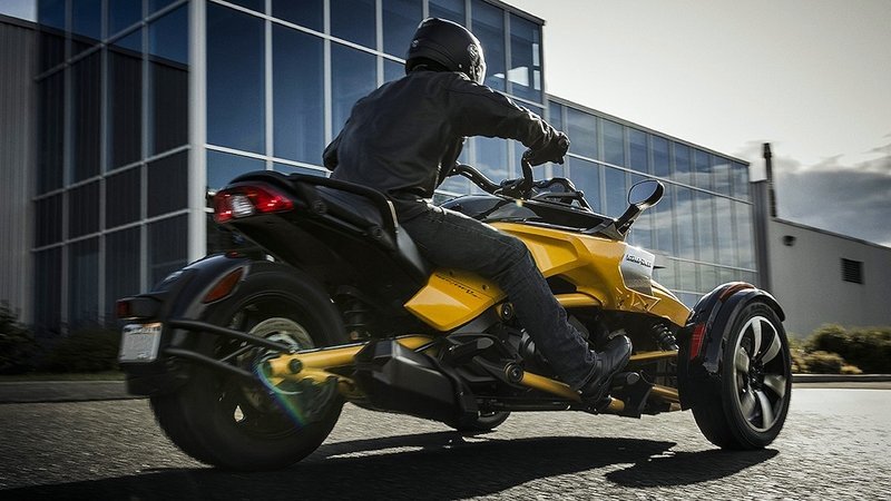 2018 Can-Am Spyder F3 / F3-S