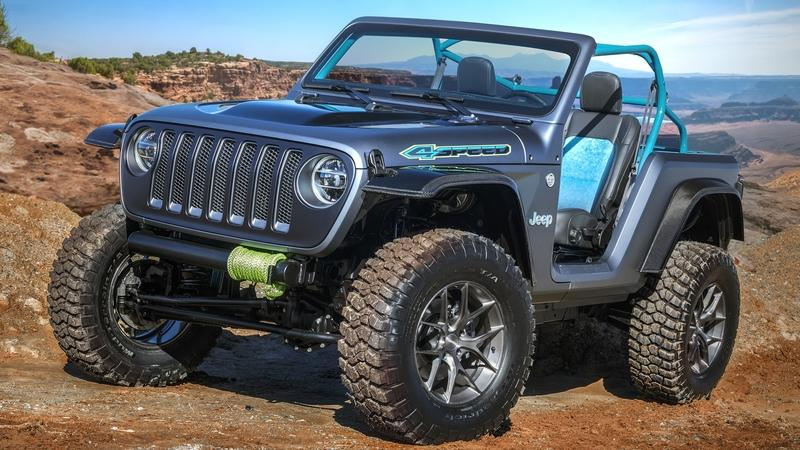 2018 Jeep 4SPEED