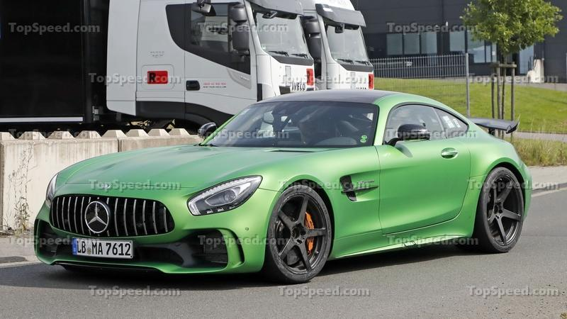 Now That Mercedes Has Launched The AMG GT 4 Door, The AMG GT Black
