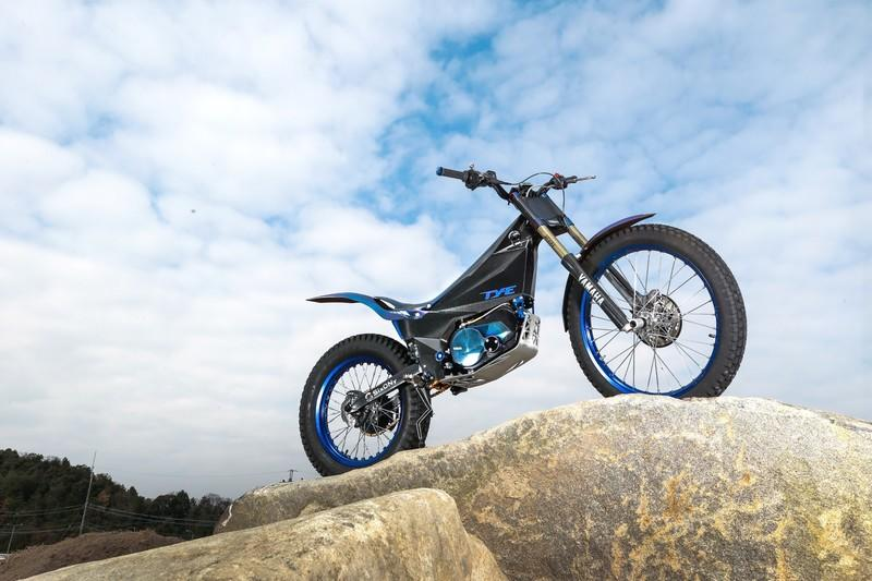 Yamaha enters the electric world with the new TY-E trial motorcycle