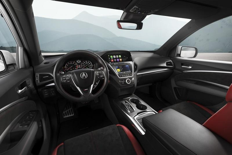 Acura MDX A-Spec Looks Sportier, Lacks the Extra Power Interior - image 775690