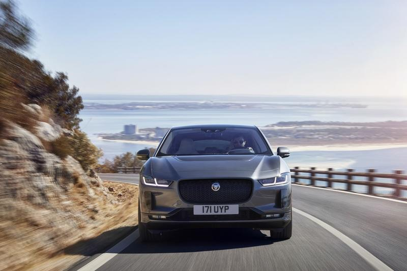 The Jaguar I-Pace fails emergency braking test
