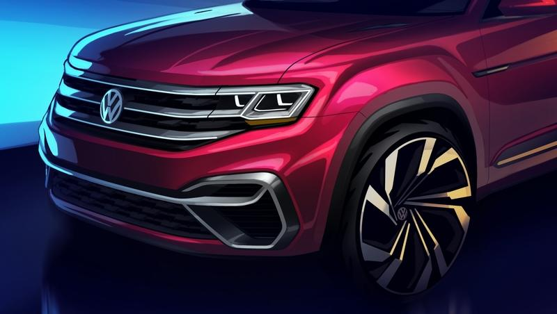 A Five-Seater Volkswagen Atlas will Debut in New York, but Where the Hell Will it Fit in the Lineup?