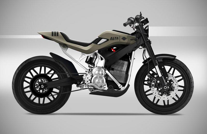 Someone already sketched out a Harley-Alta motorcycle