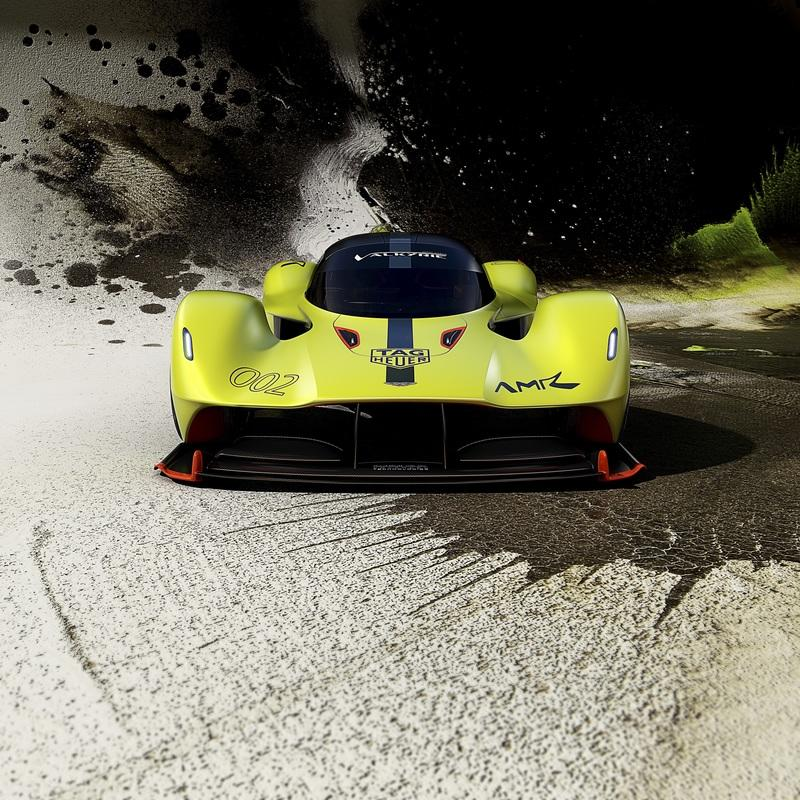 2019 Aston Martin Valkyrie AMR Pro Exterior Wallpaper quality - image 772139
