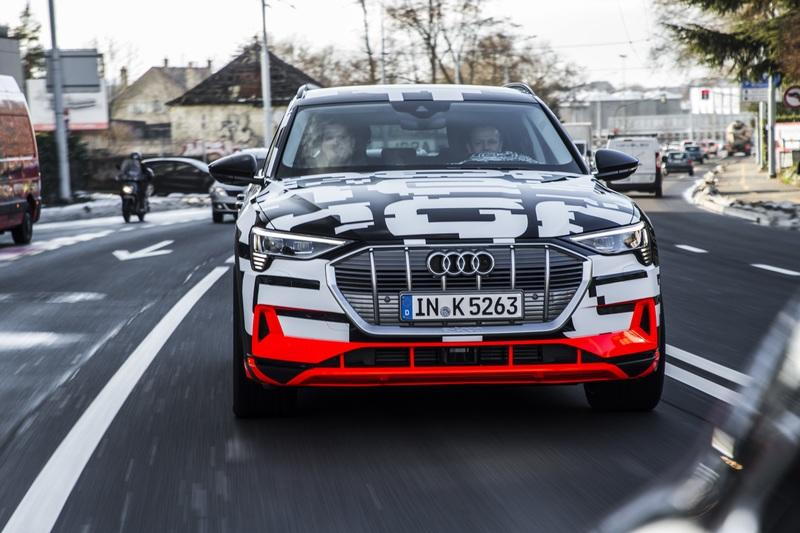 Audi E-Tron Has The Most Amazing Energy Recuperation System In The World