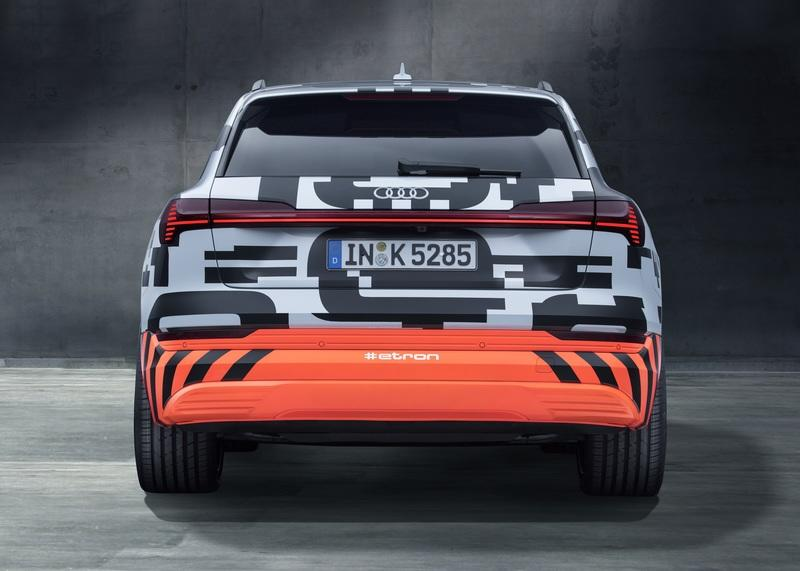 The New Audi E-Tron SUV Will Shed its Camo at the Audi Summit on August 30th