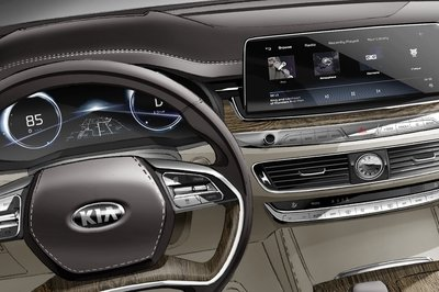 Audi Execs Will Fall Out of their Chairs when they See This Sketch of the Kia K900 Interior - image 774145