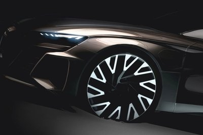 Audi Teases an E-Tron GT That Could Battle the AMG GT 4-Door and 8-Series Gran Coupe on Electricity Alone - image 774037