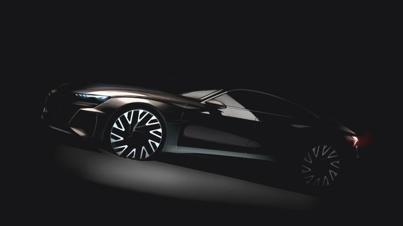 Audi Teases an E-Tron GT That Could Battle the AMG GT 4-Door and 8-Series Gran Coupe on Electricity Alone