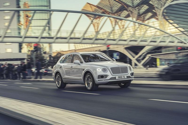 The Bentley Bentayga Hybrid gets a New V-6, Electric Motor, and 31 Miles of EV Range