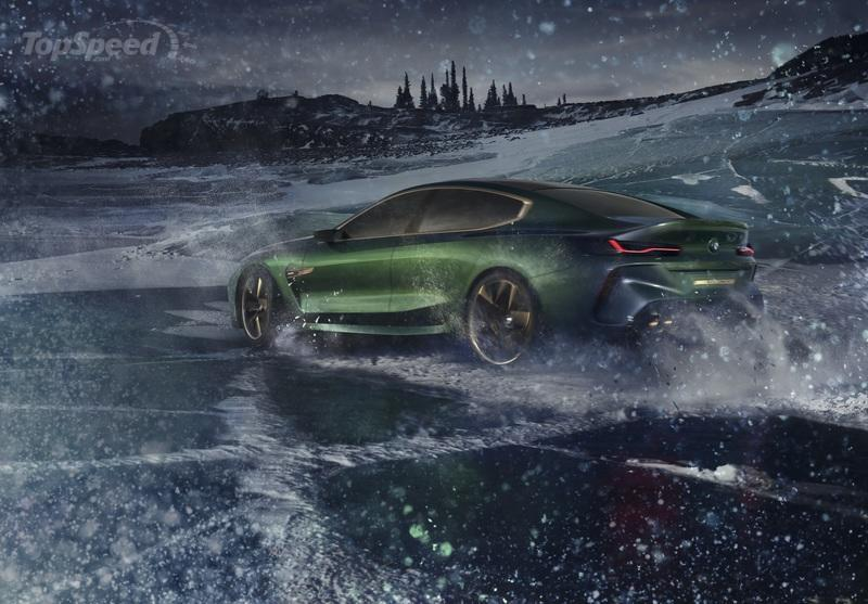 BMW Continues to Drag its Feet by Displaying the M8 Gran Coupe Concept Instead of the Production 8 Series
