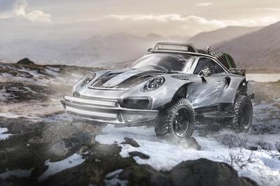 Budget Direct Renders 7 Sports Cars Built For Off-Roading - image 773964