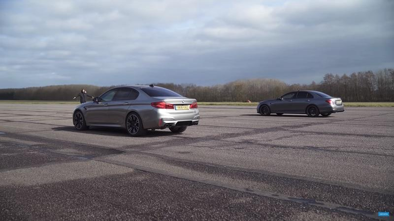 CarWow Pits the BMW M5 Against the Mercedes-AMG E63 S and It's Amazing