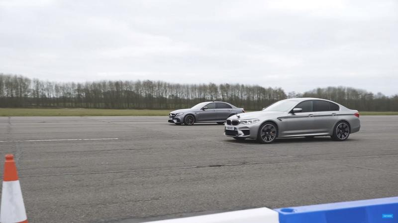 CarWow Pits The BMW M5 Against The Mercedes AMG E63 S And Itu0027s Amazing