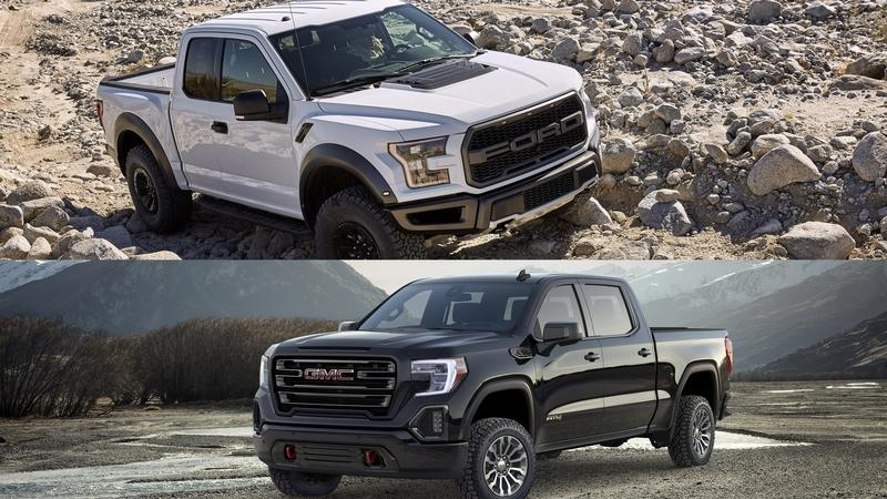 Comparison: Is the GMC Sierra AT4 a Solid Alternative to the Ford F-150 Raptor?