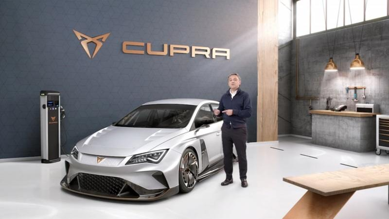 Cupra Shows Off its New 600+ Horsepower E-Racer Before its Debut at Geneva