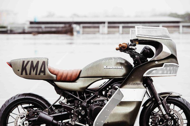Deus Ex Machina has come out with the Mad Max tribute on a Z900RS