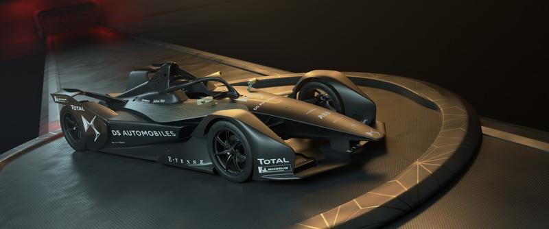 Think Audi's e-Tron FE05 Formula E Car is Cool? Check out the DS E-TENSE FE 19! Exterior Wallpaper quality - image 772665