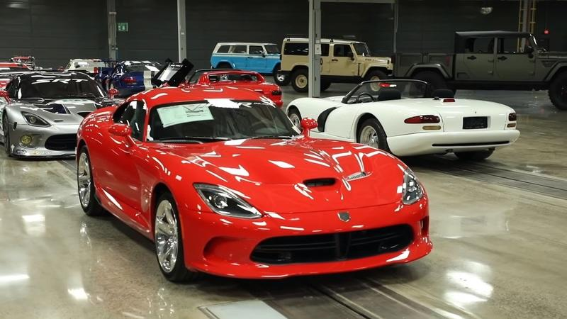 FCA Turning Old Viper Plant Into a Car Museum; Auctioning off Viper Memorabilia for Charity