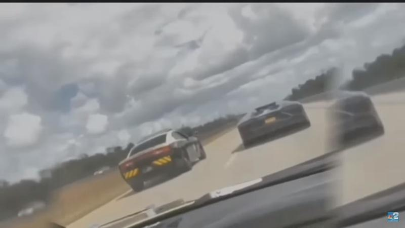 Florida Highway Patrol Officer Caught Racing (and losing to) a Lamborghini Aventador on the Highway!