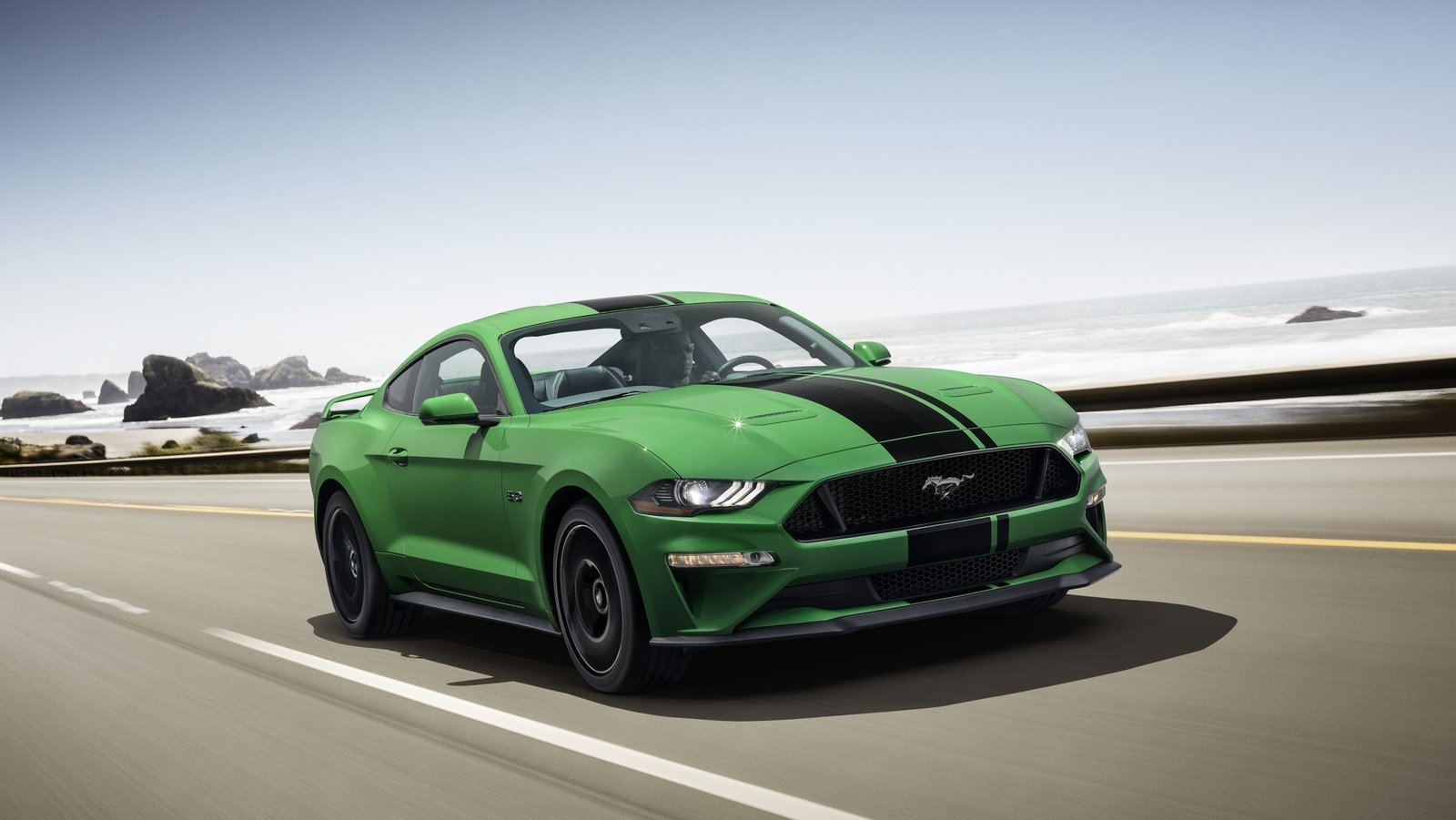 Ford Launches Need For Green Paint For 2019 Mustang Top
