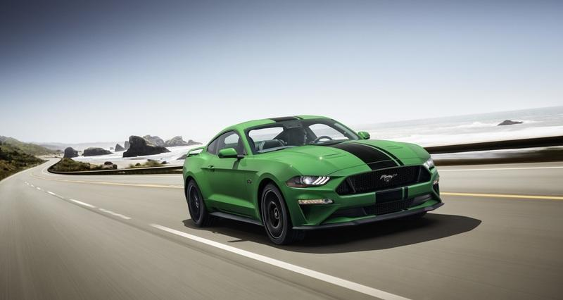 Ford Launches Need For Green Paint For 2019 Mustang