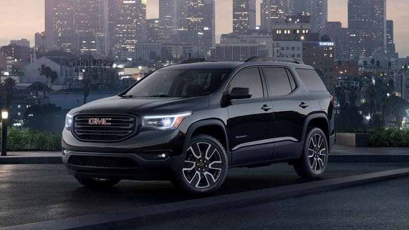 2019 GMC Acadia Black Edition