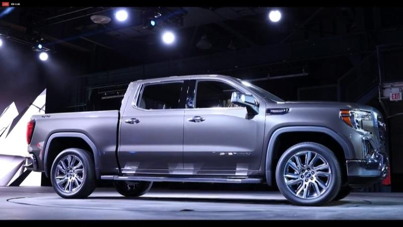 GMC Debuts The 2019 Sierra, Goes Upscale And High-Tech Exterior - image 771333