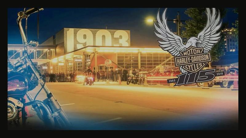 Harley-Davidson unveils its 115th anniversary party plans