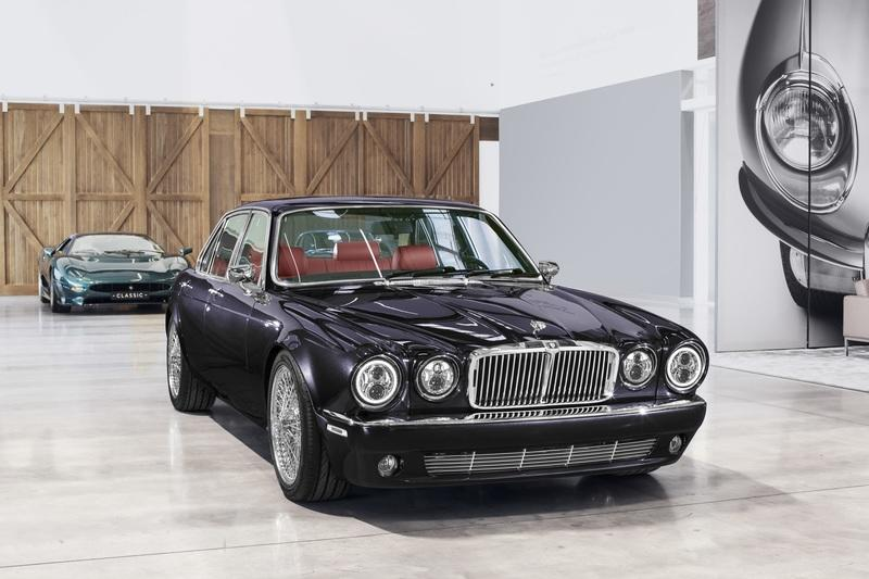 Iron Maiden drummer Nicko McBrain Gets a Custom-Built 'Greatest Hits' Jaguar XJ6