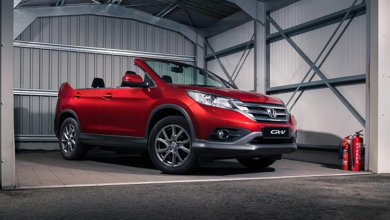 It's an April Fool's Joke, but Maybe Honda Should do a CR-V Roadster