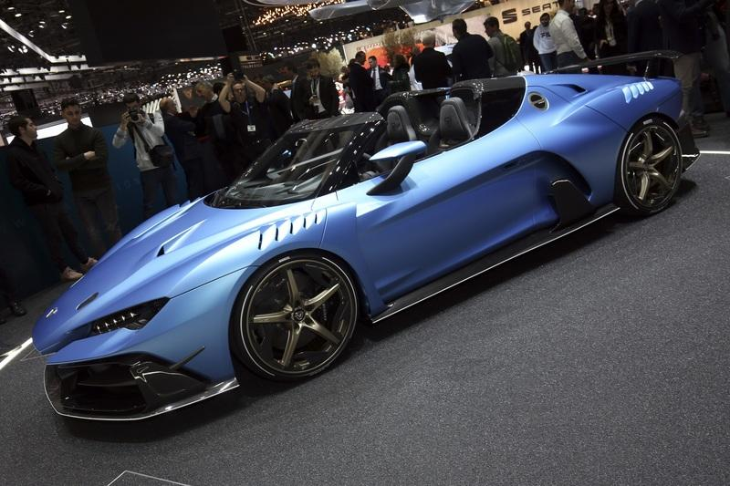 Italdesign's Zerouno Duerta Struts Into Geneva And You Can't Have One