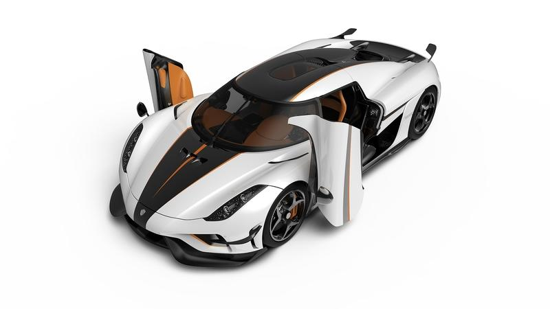 Koenigsegg Brings Two Special Regeras To Geneva
