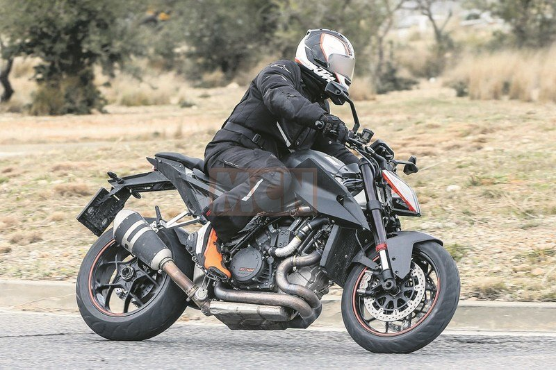 KTM busy with testing the Euro V compliant 1290 SuperDuke