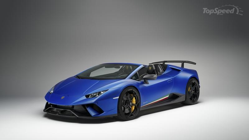 Lamborghini Huracán Performante Goes Topless In Geneva