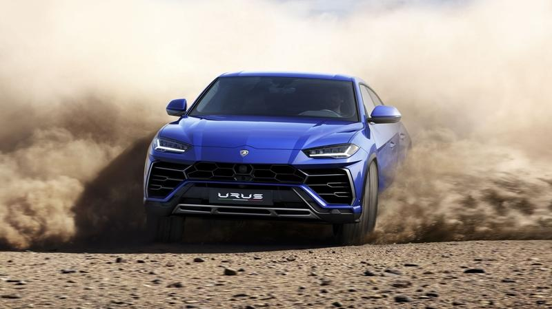 "Lamborghini Seeks to Enter the Urus in an ""All-Roads Competition"" to Demonstrate it's Capability"