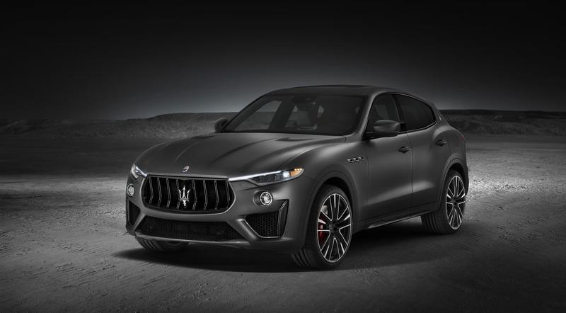 Maserati Levante Trofeo grabs Porsche Cayenne Turbo by the throat with V-8 engine