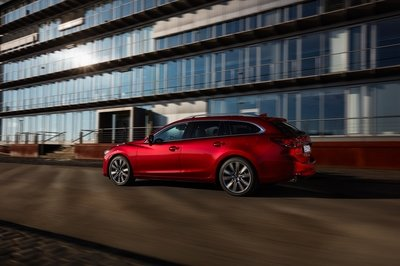 The Mazda6 Wagon Puts the New Mercedes C-Class Estate to Shame - image 772786