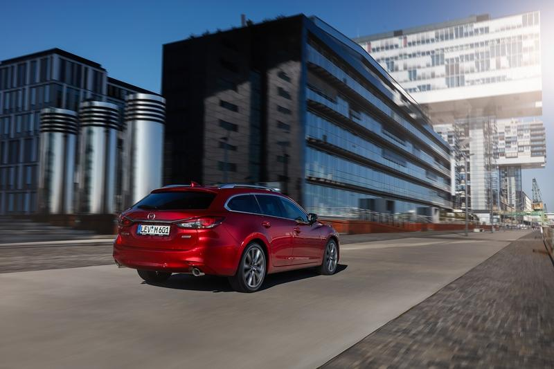 The Mazda6 Wagon Puts the New Mercedes C-Class Estate to Shame